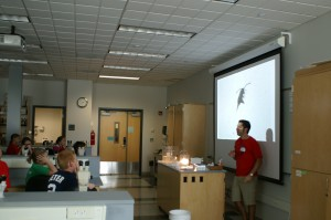 Teaching young scientists