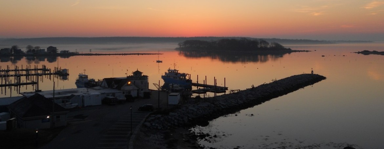 UConn Avery Point Sunrise